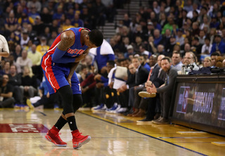 KCP out vs. Jazz with rotator cuff strain