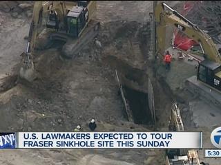 Miller updates Fraser sinkhole