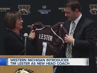 Lester hopes to keep Western Michigan rolling