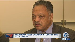 Jackson talks Trump at NAIAS's MLK day event