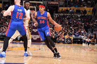 Harris help Pistons beat Lakers, snap skid
