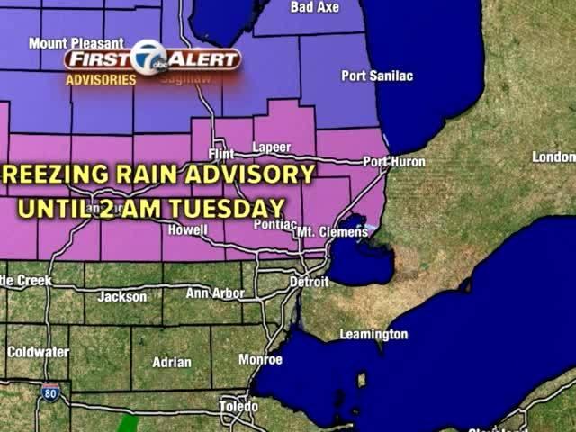 FORECAST: Freezing Rain Advisory