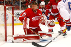 Coreau blanks Canadiens in Red Wings win