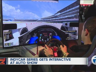 IndyCar Series gets interactive at 2017 NAIAS