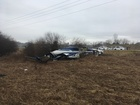 Plane goes off runway in Livingston County