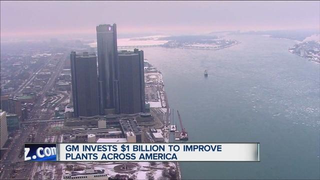 General Motors Announces 1 Billion Investment In Us