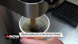 Millennials not saving, spending more on coffee