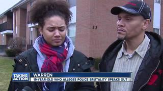 Teen alleges police brutality in Warren