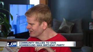 Birthday party changes Downriver man's life