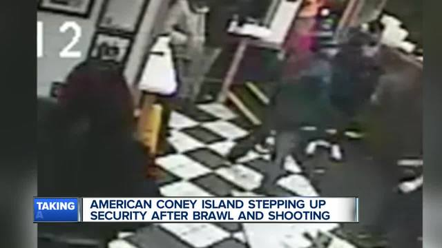 Suspect sought in shooting at downtown Detroit eatery