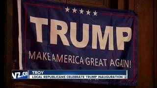Local inauguration party celebrates Pres. Trump