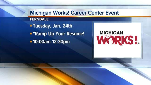 oakland county michigan works is holding workshops for job michigan works resume builder - Michigan Works Resume Builder