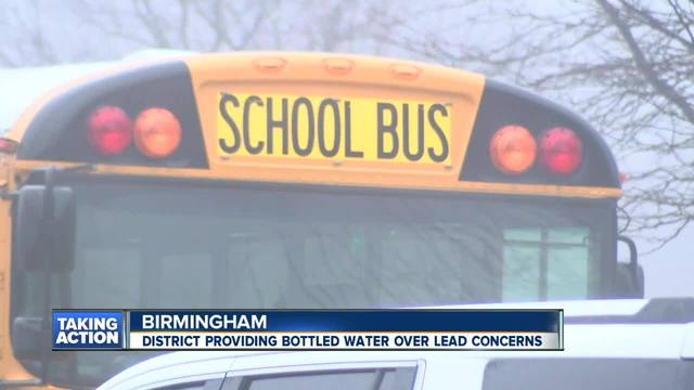 Lead found in water at Birmingham schools