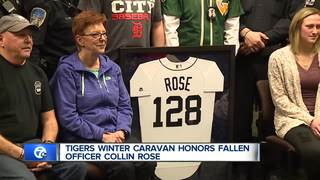 Tigers pay tribute to fallen WSU officer Rose
