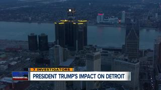 What will Pres. Trump's impact be on Detroit?