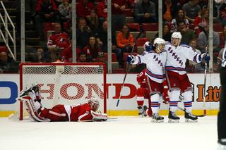 Miller's OT goal lifts Rangers over Red Wings
