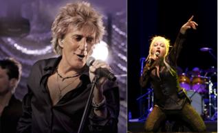 Rod Stewart, Cyndi Lauper headed to DTE Theatre