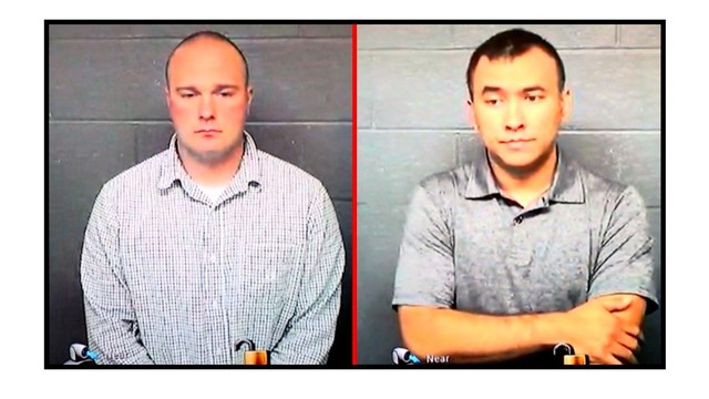 Misconduct charges dropped against 2 former cops