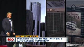 President Trump to meet with car executives