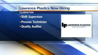 Lawrence Plastics is hiring now