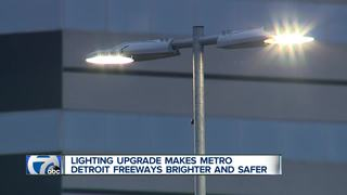 Metro Detroit freeways safer and brighter now