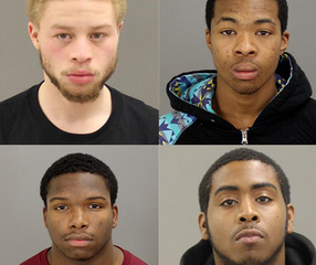Four men arraigned in string of home invasions