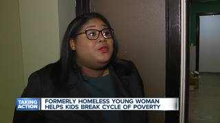 Young woman helps homeless teens find their path