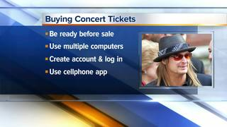 Tips for getting your Kid Rock tickets today