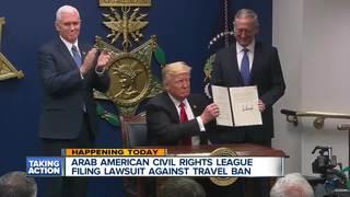 ACRL files lawsuit against immigration ban