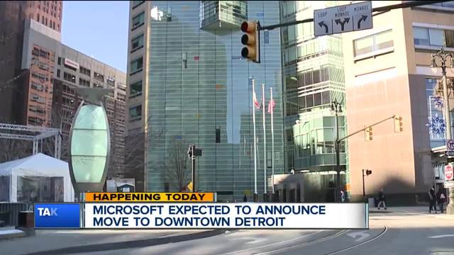 Microsoft Is Moving To Downtown Detroit