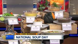 Enjoy different soups from Nino Salvaggio