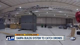 DARPA system can catch drones from trucks, ships
