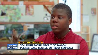 Grant me Hope: Octavion is creative and sporty