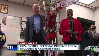 Is Gov. Snyder's school plan political payback?