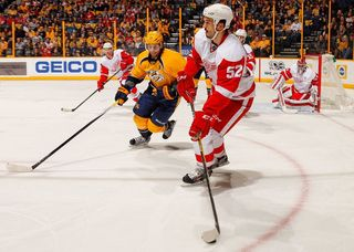 Report: Red Wings' Ericsson out rest of season