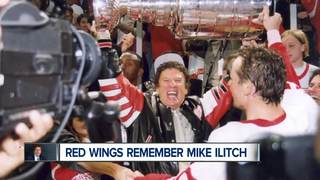 WATCH: Red Wings share memories of Mike Ilitch