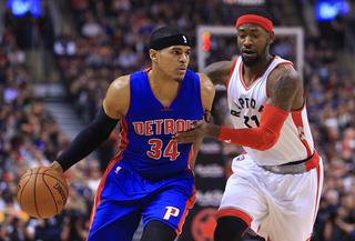Pistons rally for comeback win over Raptors