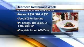 Dearborn Restaurant Week runs now through Sunday