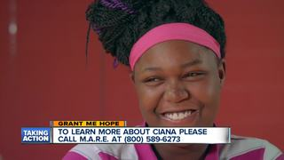 Grant Me Hope: Ciana loves singing and animals