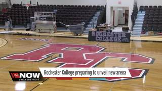 Rochester College ready to unveil new arena