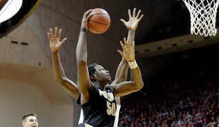 Swanigan, Haas carry Purdue past Michigan State