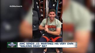 'Walking Dead' fan Martinez gets special gift