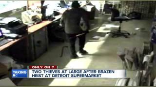 Thieves pull off brazen heist at Detroit market