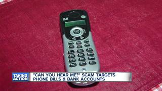 New warning about 'Can you hear me' phone scam