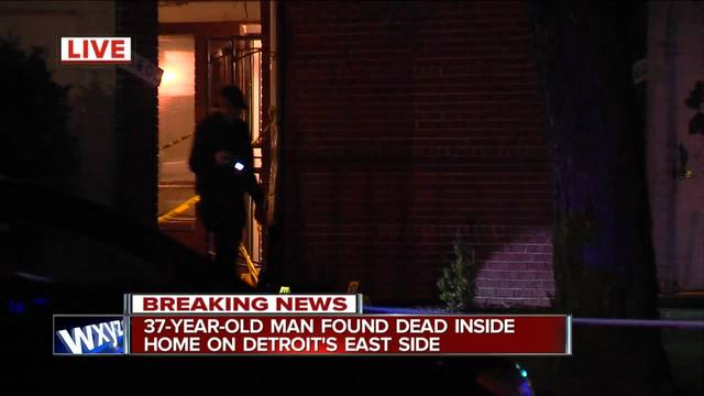 37-year-old man found dead inside home on Detroit-s east side