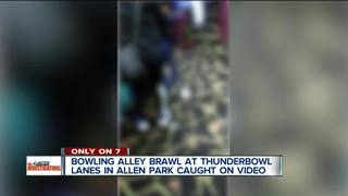 VIDEO: Fight breaks out at bowling alley