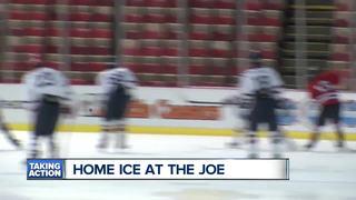 Berkley team skates at The Joe after rink closes