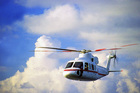 Entrepreneurs invited to pitch in a helicopter