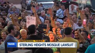 Sterling Heights to address lawsuits over mosque