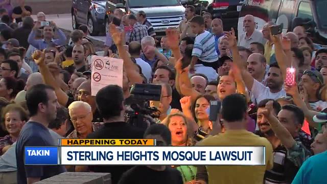 Sterling Heights to address federal lawsuits over mosque build